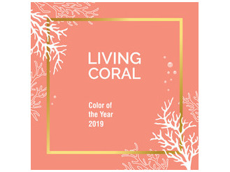 Living Coral, color of the year 2019 - Niki's Glam Blog