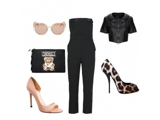 Black & Jungle Outfit - Niki's Glam Journal