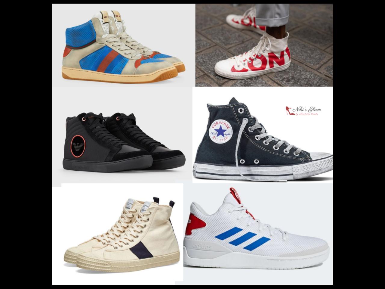 Le sneakers alte da uomo - Niki's Glam Blog