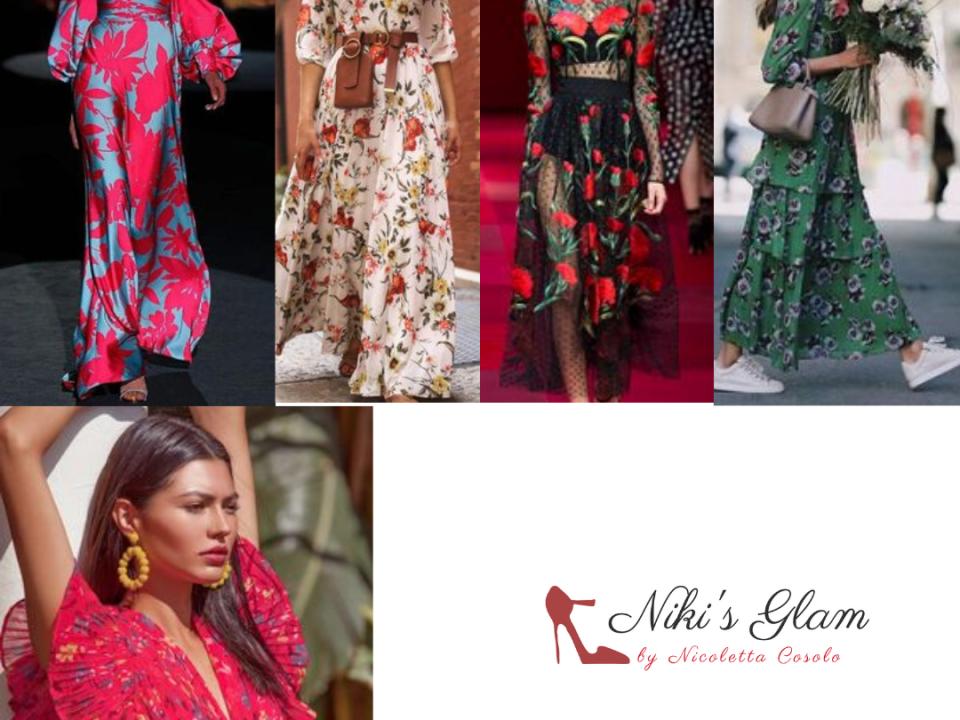 Abito-a- fiori,icona di stile  - Niki's Glam Blog